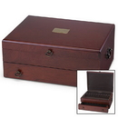 Reed & Barton 863089 Bristol Mahogany Finish Flatware Chest