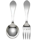 Reed & Barton 865223 Pointed Antique Sterling 2-piece Baby Flatware Set