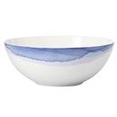 Lenox 865610 Indigo Watercolor Stripe™ Medium Serving Bowl
