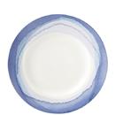 Lenox 865611 Indigo Watercolor Stripe™ Accent Plate