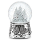 Reed & Barton 867074 North Pole Bound™ Musical Snow Globe