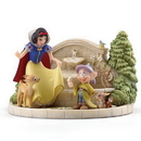 Lenox 868818 Disney Snow White's Charming Garden Fountain