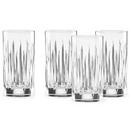 Reed & Barton 869704 Soho® Crystal 4-piece Iced Beverage Glass Set