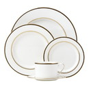Kate Spade 871078 Library Lane Black™ 5-piece Place Setting