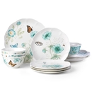 Lenox 871196 Butterfly Meadow Turquoise® 12-piece Dinnerware Set