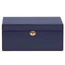 Reed & Barton 871815 Modern Lines™ Navy Jewelry Box