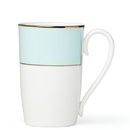 Lenox 879154 Pleated Colors Aqua™ Mug