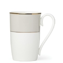 Lenox 879166 Pleated Colors Grey™ Mug