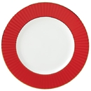 Lenox 879179 Pleated Colors Red™ Dinner Plate