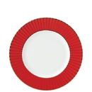 Lenox 879182 Pleated Colors Red™ Salad Plate