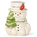 Lenox 879208 Snowman Cookie Jar