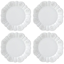 Lenox 879575 Alpine™ Carved 4-piece Dinner Plate Set