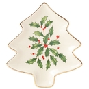 Lenox 879592 Hosting the Holidays™ Tree Shaped Party Plate