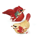 Lenox 880133 Winter Greetings™ Bird Figurine Salt and Pepper Set