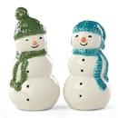 Lenox 883072 Balsam Lane™ 2-piece Snowman Salt & Pepper Set