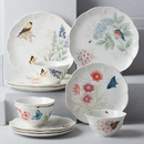 Lenox 883319 Butterfly Meadow Flutter® 12-piece Dinnerware Set