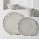 Lenox 883828 Chelse Muse Fleur Grey™ 4-piece Place Setting
