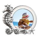 Reed & Barton 884411 Mystic Sea™ Seahorse 3