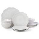 Lenox 884535 Chelse Muse Floral White™ 12-piece Dinnerware Set