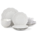 Lenox 884537 Chelse Muse Scallop White™ 12-piece Dinnerware Set