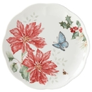 Lenox 884600 Butterfly Meadow® Holiday Poinsettia Accent Plate