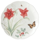 Lenox 884601 Butterfly Meadow® Holiday Amaryllis Dinner Plate
