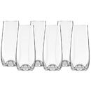 Lenox 884907 Tuscany Classics® Stemless Champagne Flute Set, Buy 4 Get 6