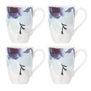 Lenox 885149 Indigo Watercolor Floral™ 4-piece Mug Set