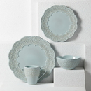 Lenox 885342 Chelse Muse Scallop Blue™ 4-piece Place Setting
