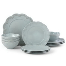 Lenox 885626 Chelse Muse Floral Blue™ 12-piece Dinnerware Set