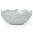 Lenox 886227 Chelse Muse Sculpted Blue™  Medium Serving Bowl