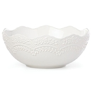 Lenox 886228 Chelse Muse White™ Sculpted Medium Serving Bowl
