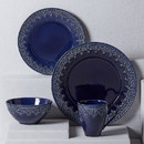 Lenox 886305 Chelse Muse Fleur Navy™ 4-piece Place Setting