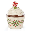 Lenox 886642 Hosting the Holidays™ Bakeshop Cupcake Candy Dish
