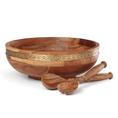 Lenox 886669 Global Tapestry™ Salad Bowl with Servers