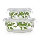 Lenox 886855 Hosting the Holidays™ Glass Storage Bowls