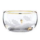 Lenox 886858 Holiday™ Gold Glass Nut Bowl
