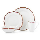 Lenox 888007 Contempo Luxe Garnet™ 4-piece Place Setting