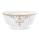 Lenox 888237 Opal Innocence Scroll Gold™ Serving Bowl