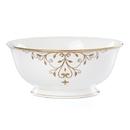 Lenox 888237 Opal Innocence Scroll Gold™ Serving Bowl