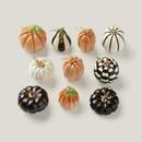 Lenox 889140 Mini Pumpkin 10-Piece Ornament Set