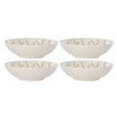 Lenox 890115 Textured Neutrals™ Lattice 4-piece All Purpose Bowl Set