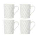 Lenox 890116 Textured Neutrals™ Netting 4-piece Mug Set