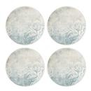 Lenox 890119 Textured Neutrals™ Floral 4-piece Accent Plate Set