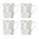 Lenox 890127 Textured Neutrals™ Leaf 4-piece Mug Set