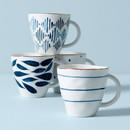 Lenox 890204 Blue Bay 4-Piece Dessert Mug Set