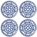 Dansk 890264 Arabesque 4-piece Set Dinner Plates
