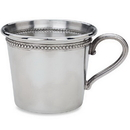 Reed & Barton P811 Baby Beads™ Pewter Cup