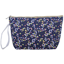 Aspire 6PCS Flower Floral Canvas Makeup Bag with Wristlet, Wedding Favor
