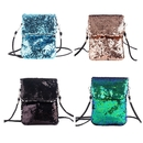 Aspire Sequin Purse 5 3/4 x 7 Inches Cross-body Shoulder Bag for Travel, Party Favor